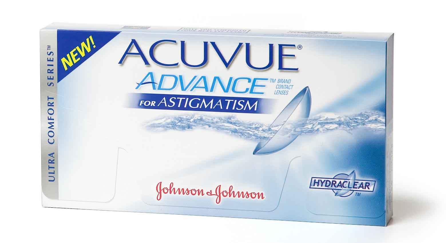 Acuvue Advance for astigmatism (Johnson & Johnson)