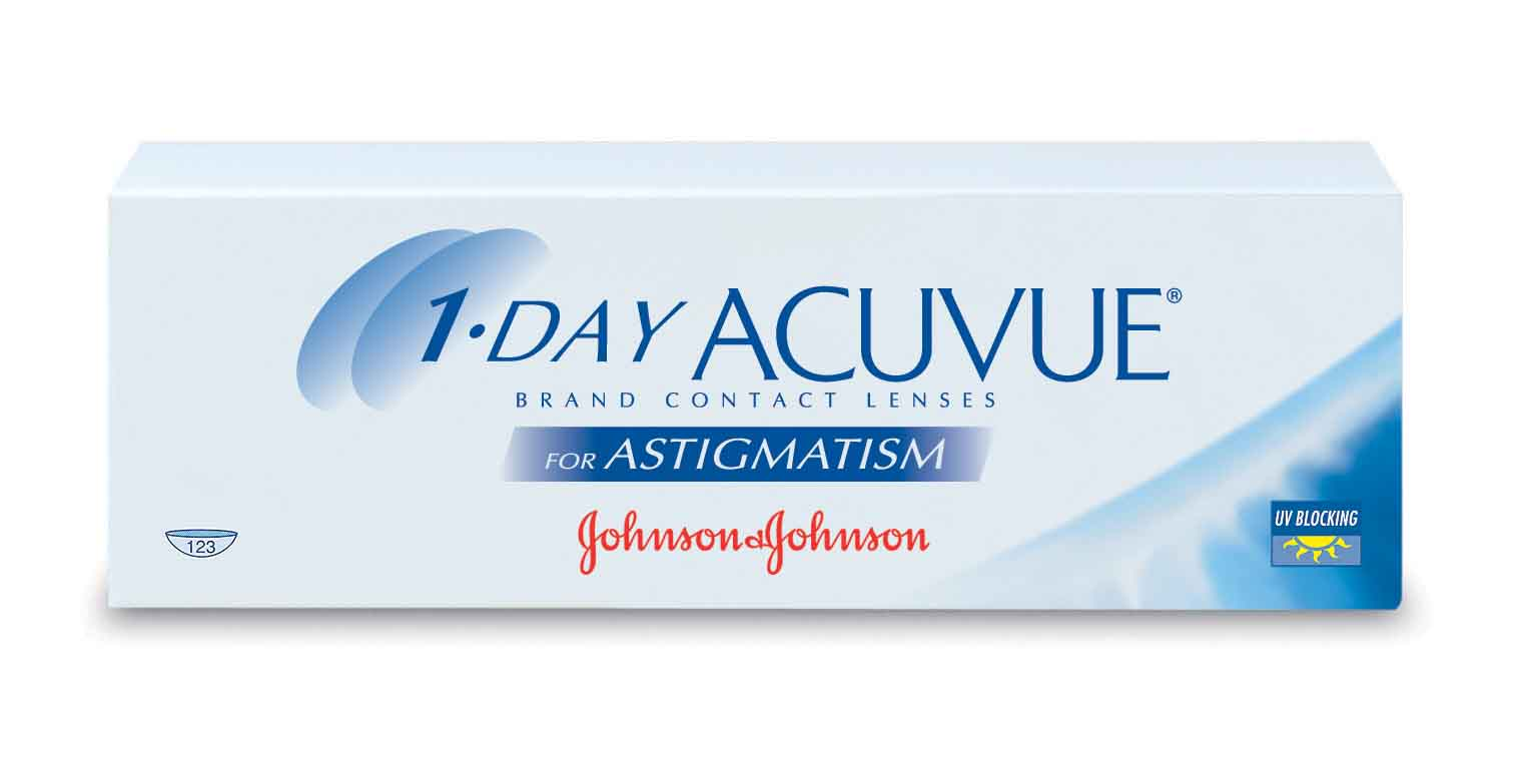 Acuvue 1-Day for astigmatism (Johnson & Johnson)